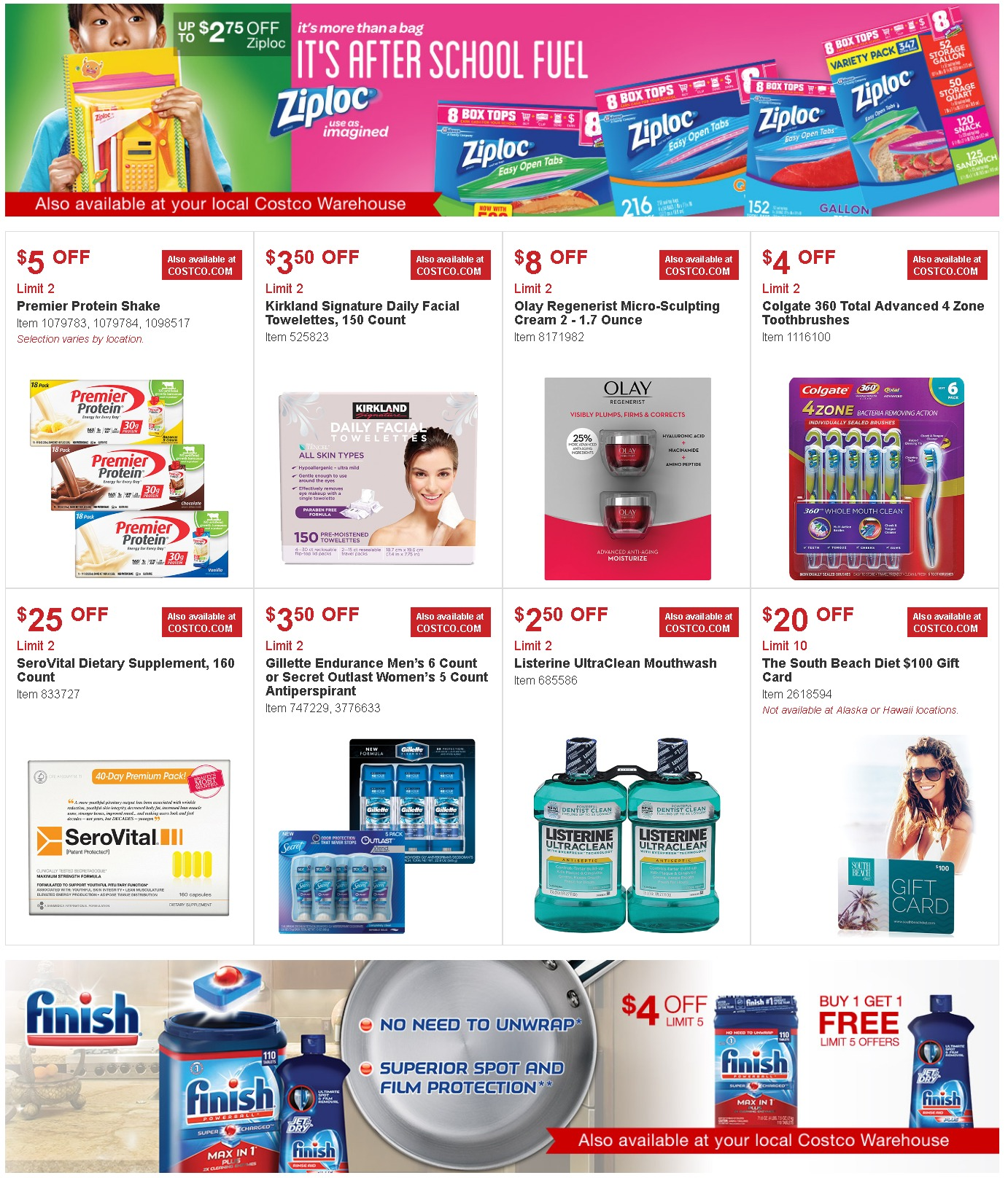 Deal Costco Canada Online Offers Valid From Feb 28 To Mar: Costco Coupon Offers August 3