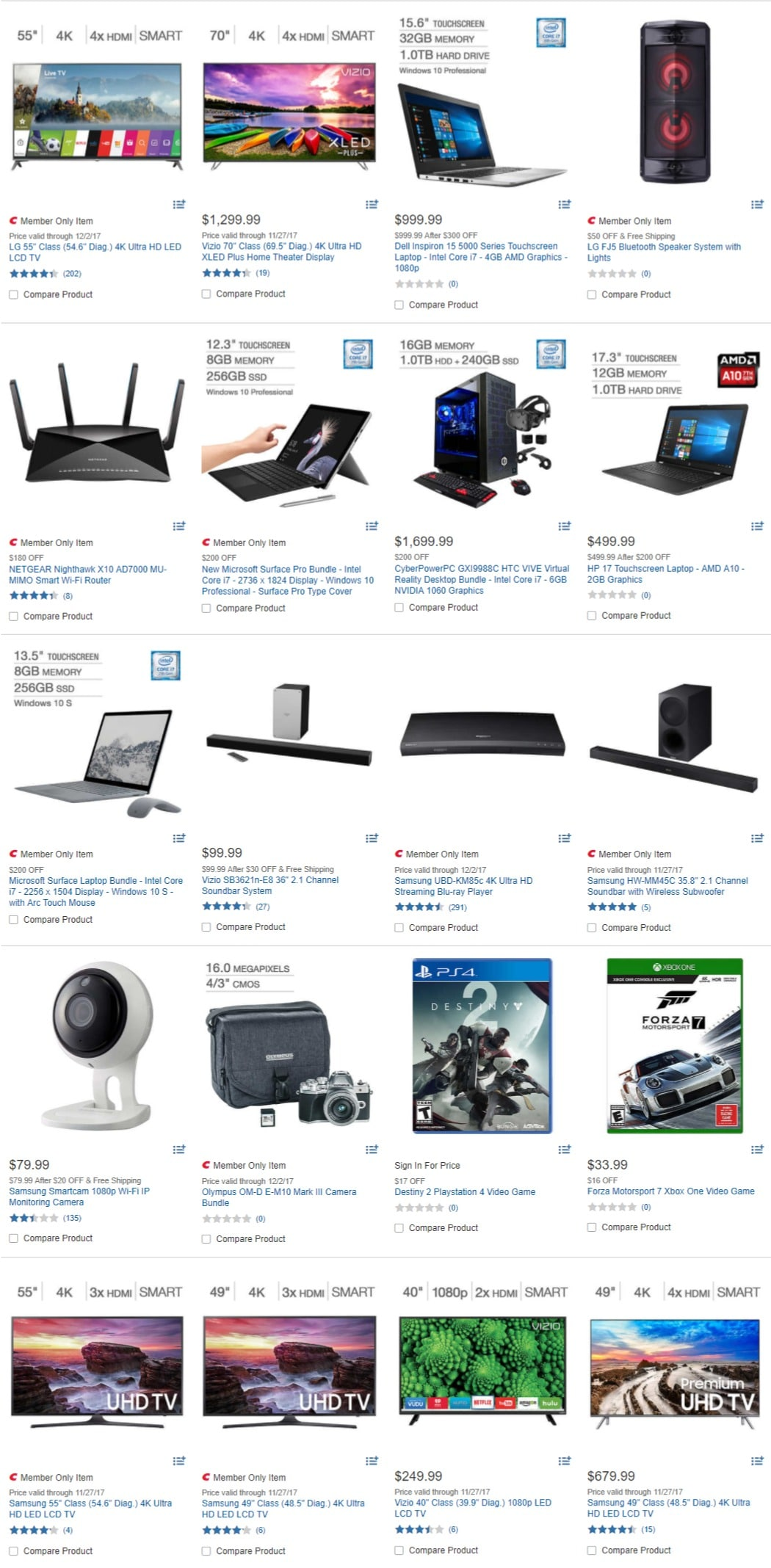Costco Cyber Monday Deals 2017