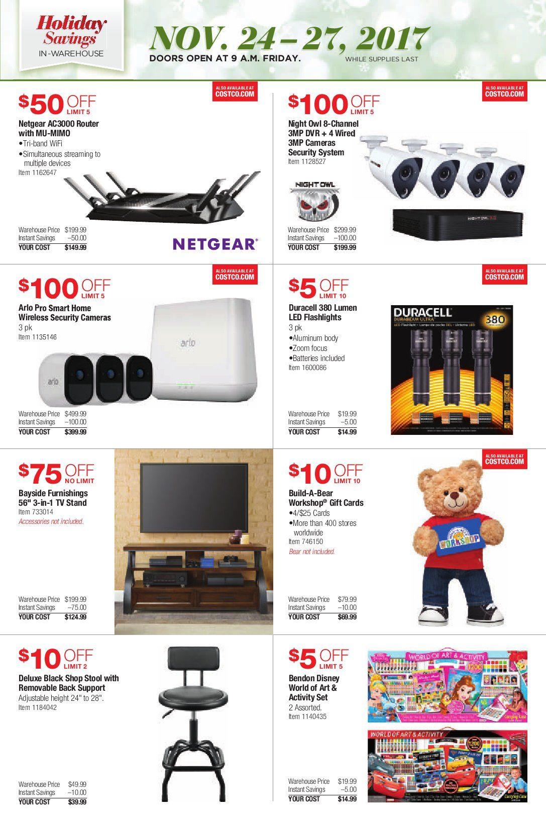 Black Friday Gaming Laptop Deals 2017 >> Costco Black Friday Ad Sale 2017
