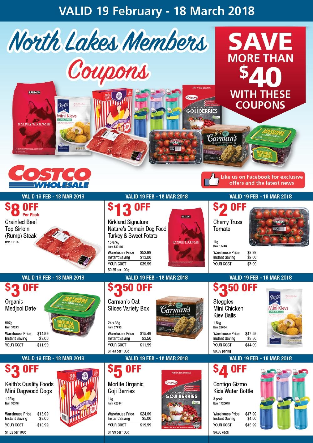 Costco membership deals 2018 december