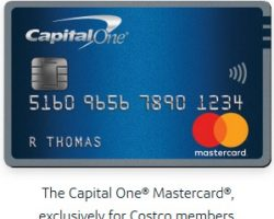 Capital One MasterCard Costco Canada Benefits
