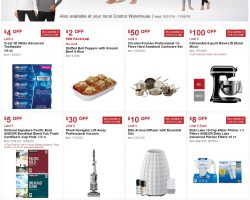 Costco Coupon Offers October 31 – November 26, 2018