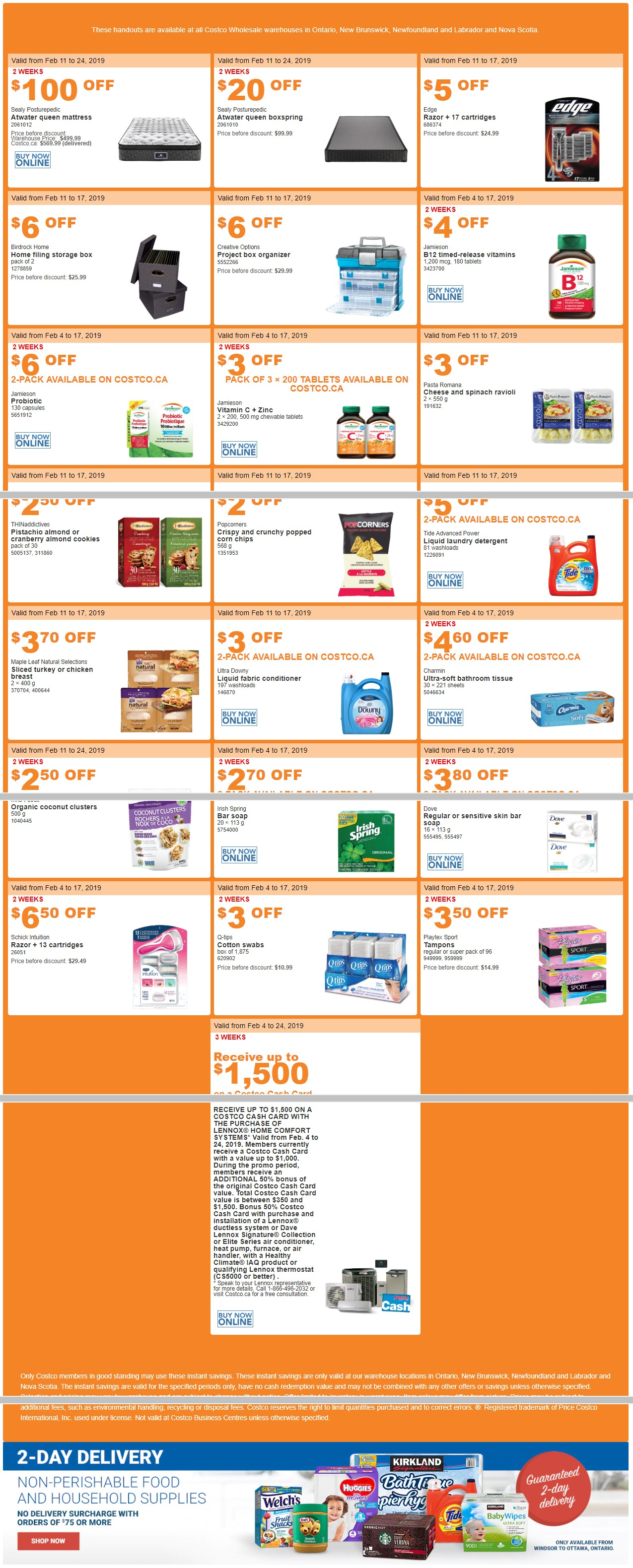Costco Canada Flyer February 11 - February 17, 2019