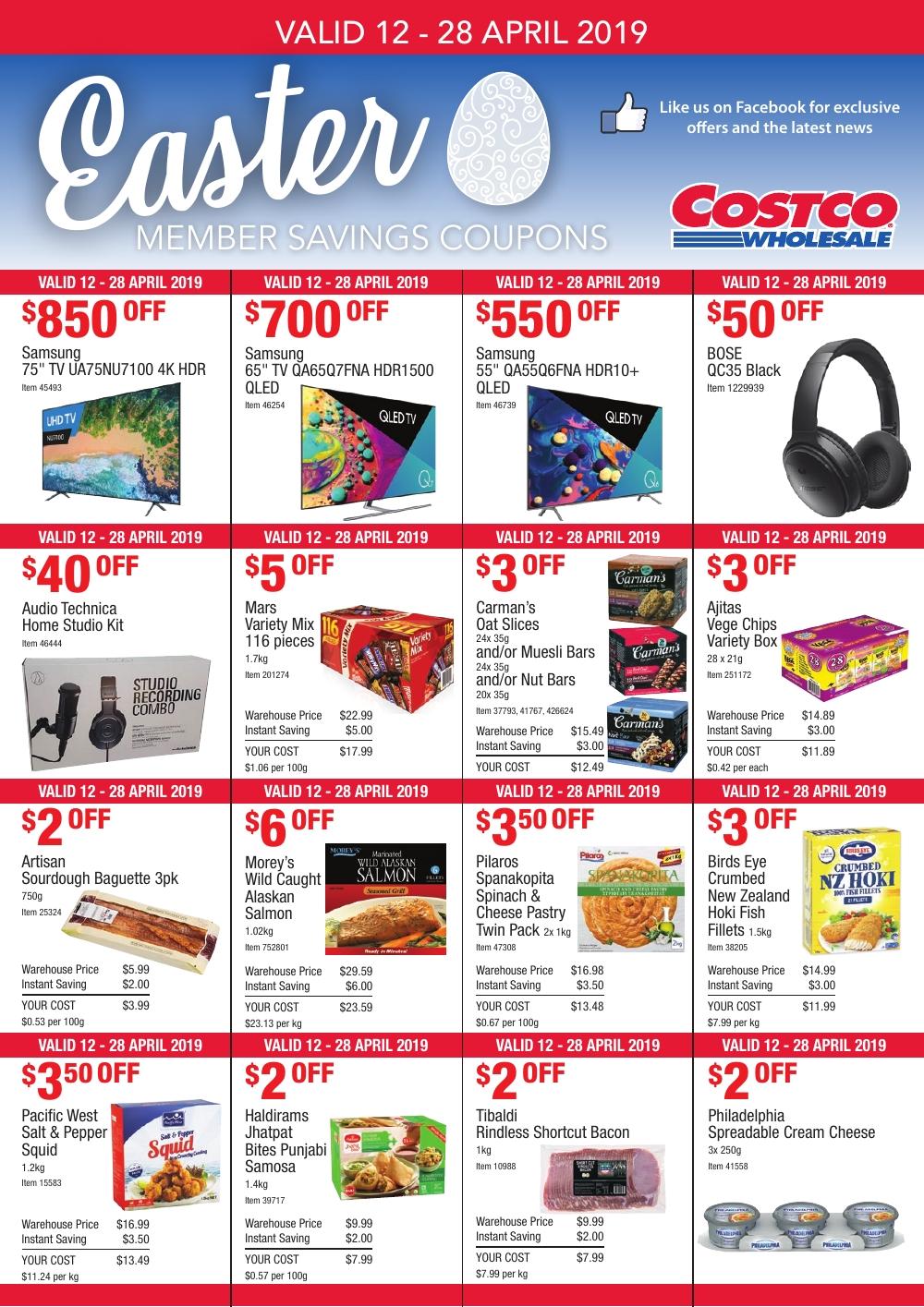 Costco Australia Catalogue 12 April - 28 April, 2019