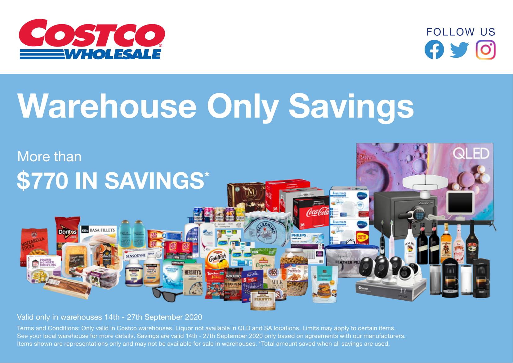 Costco Australia Catalogue 14 September - 20 September, 2020