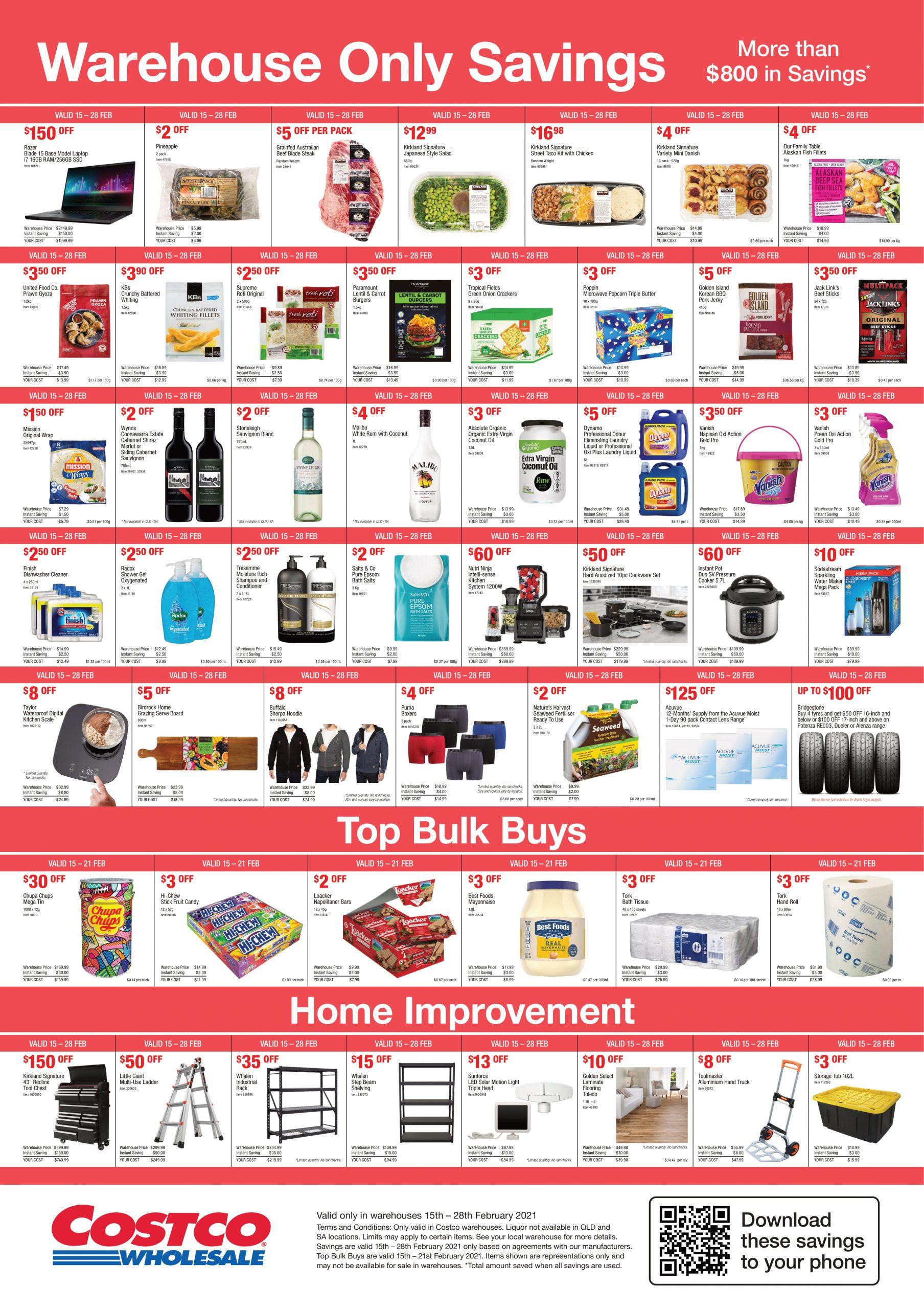 Costco Australia Catalogue 15 February - 28 February, 2021
