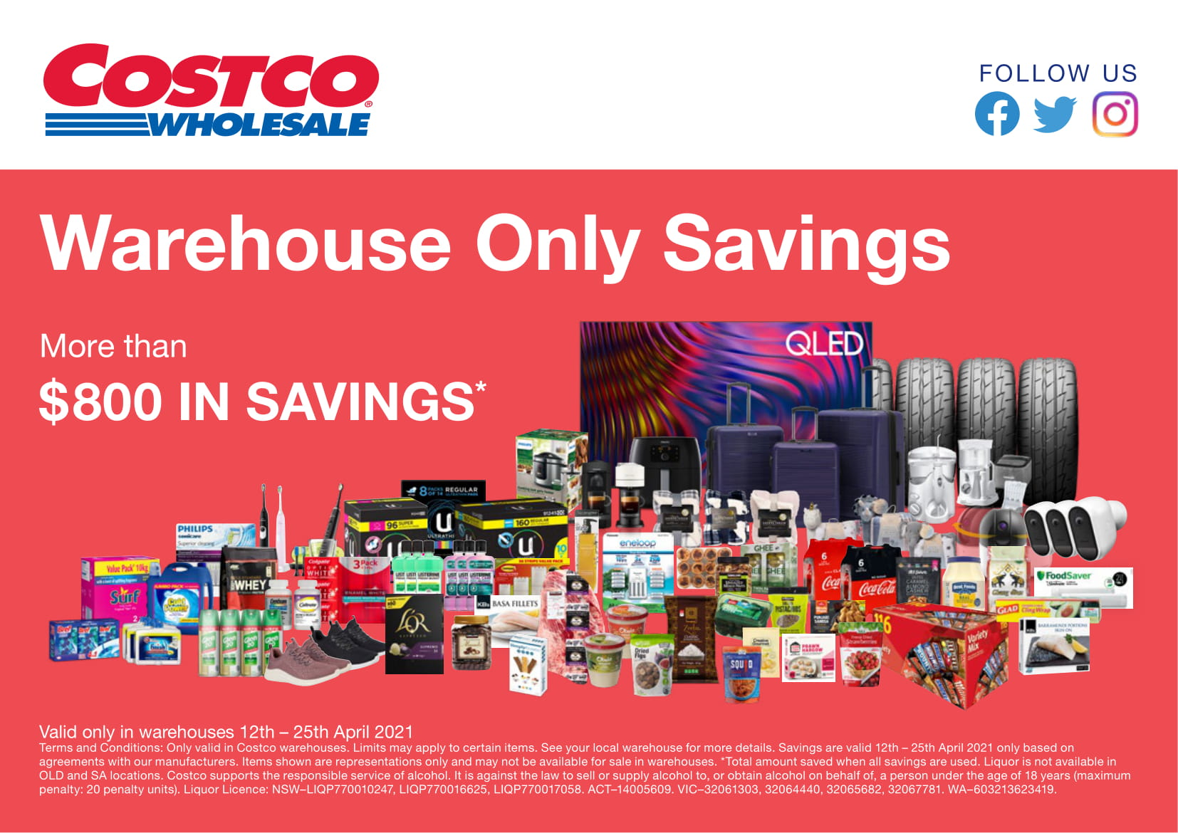 Costco Australia Catalogue 12 April - 25 April, 2021